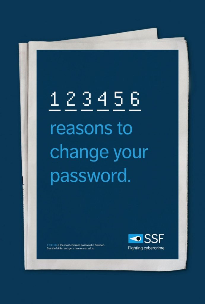 SSF Use Strong Passwords