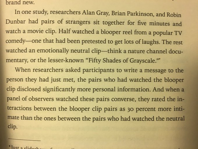 💎 On how humour boosts trust
