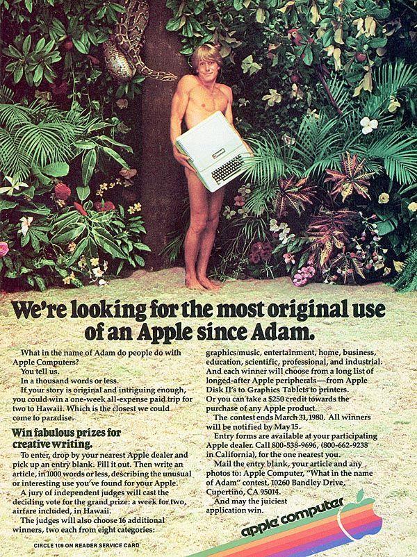 Apple Computer Adam