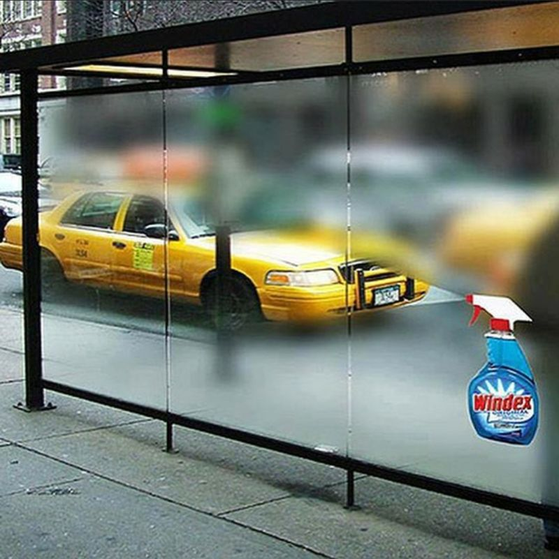 Windex Clear View