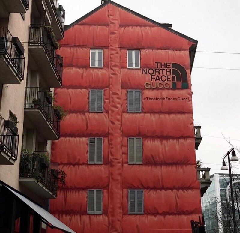 The North Face x Gucci Building