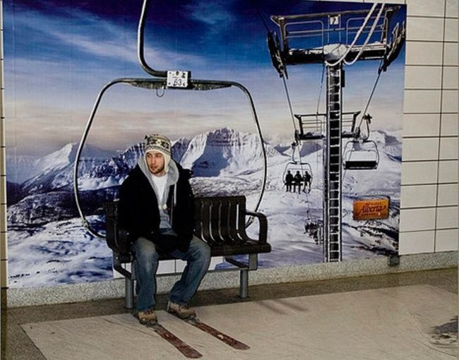 ♦️ Alberta Subway Ski Lift