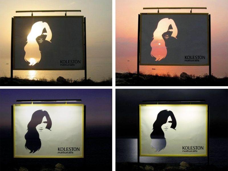 Koleston Naturals billboards