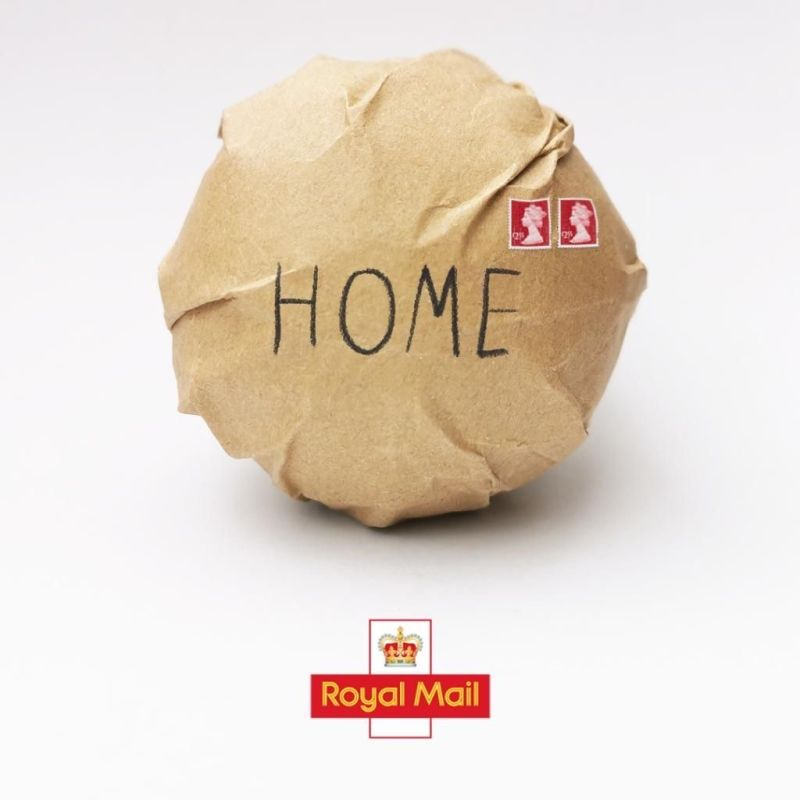 Royal Mail It's Coming Home