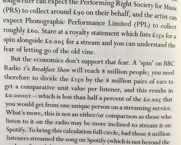 💎 Interesting reframing of how much Spotify pay musicians