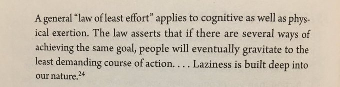 💎 The law of least effort