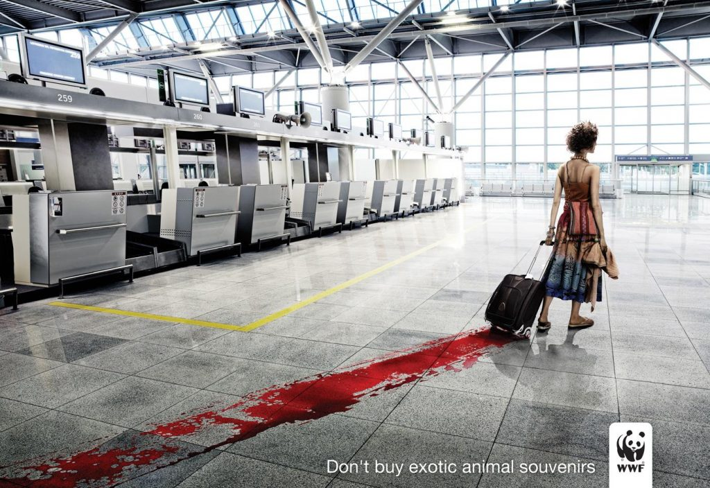 WWF Don't Buy Exotic Animal Souvenirs