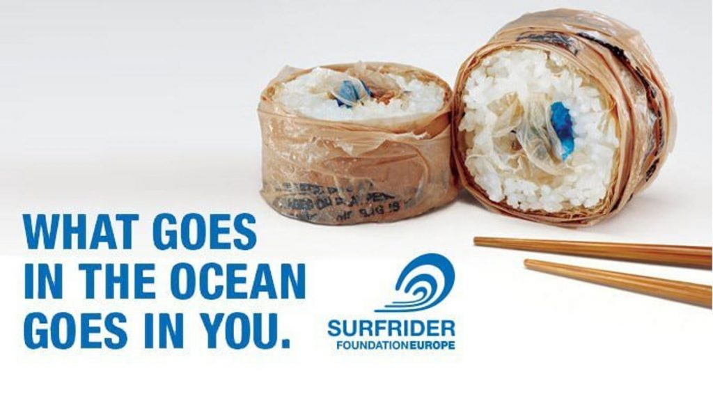 SurfRider What Goes in the Ocean Goes in You