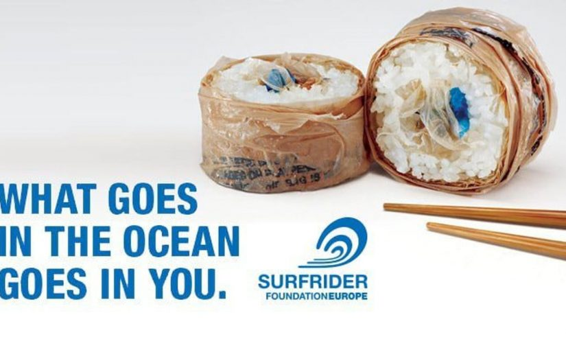 ♦️ SurfRider What Goes in the Ocean Goes in You
