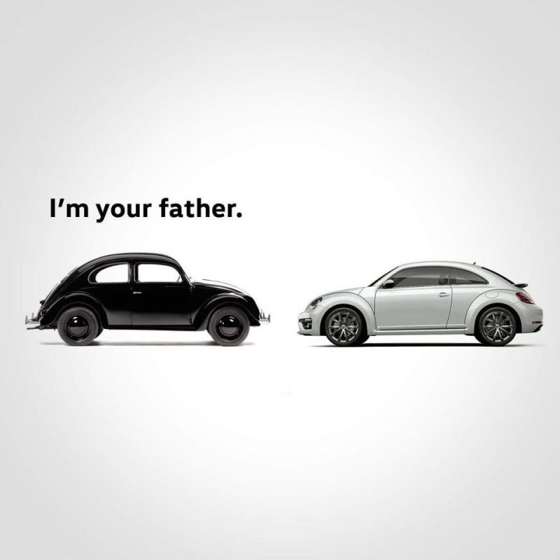 VW I'm your Father