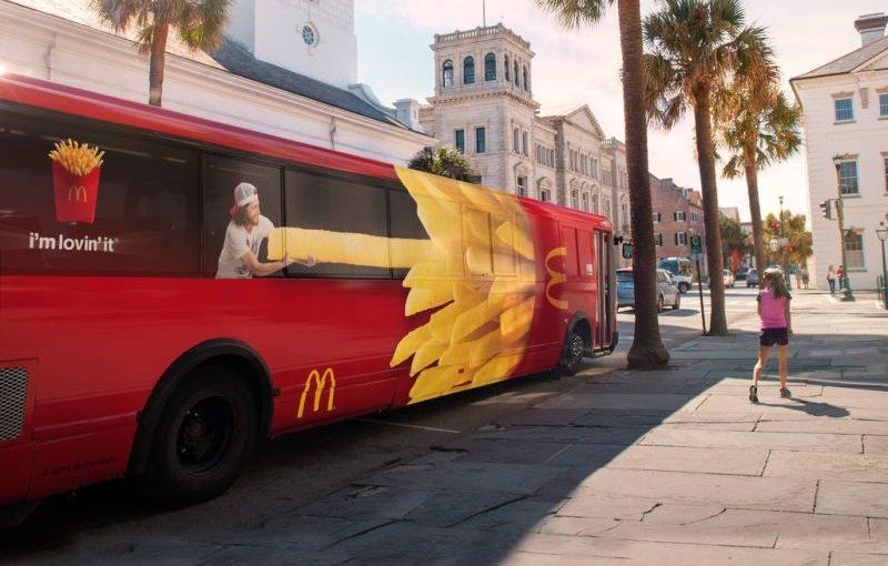 ♦️ McDonalds Red Bus / Box Fries